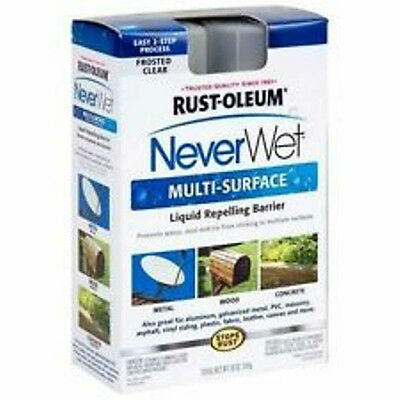 RUST-OLEUM NEVERWET MULTI-SURFACE KIT 2- 9 oz Cans/ 18 oz NEVER WETRUST-OL
