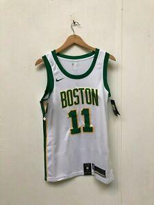 sale retailer ca5fb e5bd1 Details about Nike Men's NBA Boston Celtics City Jersey - Small - Irving 11  - White - New