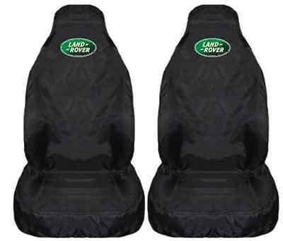 Heavy Duty Black Waterproof Seat Covers//Protectors LAND ROVER DEFENDER 90
