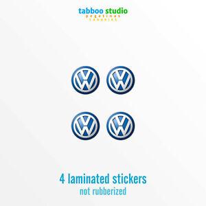 Adesivi-Logo-Volkswagen-stemma-adesivo-4-pezzi