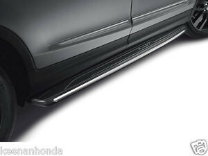 Image Is Loading Genuine Oem Honda Pilot Chrome Running Board Set