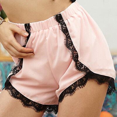 New Womens Summer Fashion Casual Beach Dress Board Shorts High Waist Pants S-XL