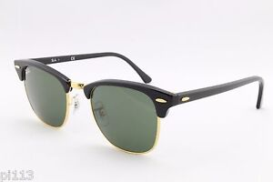 ac9386ce38c Image is loading New-Ray-Ban-Clubmaster-RB3016-W0365-Designer-Sunglasses-