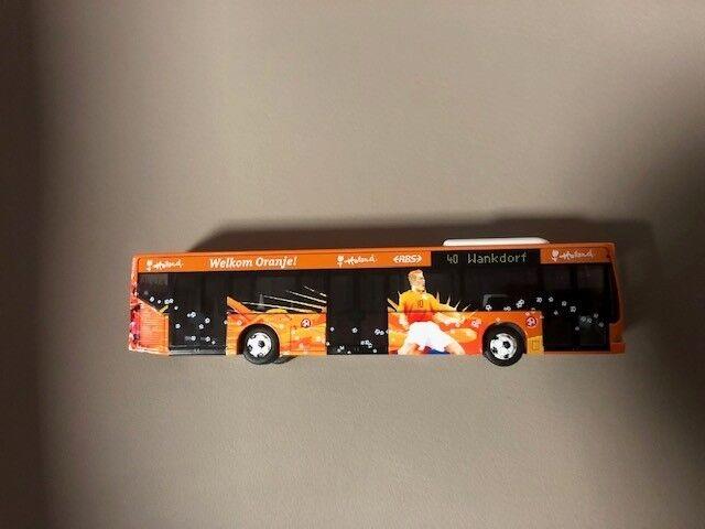 Mannschaftsbus Holland EM WM Bus Stadtbus Rietze 1:87 OVP
