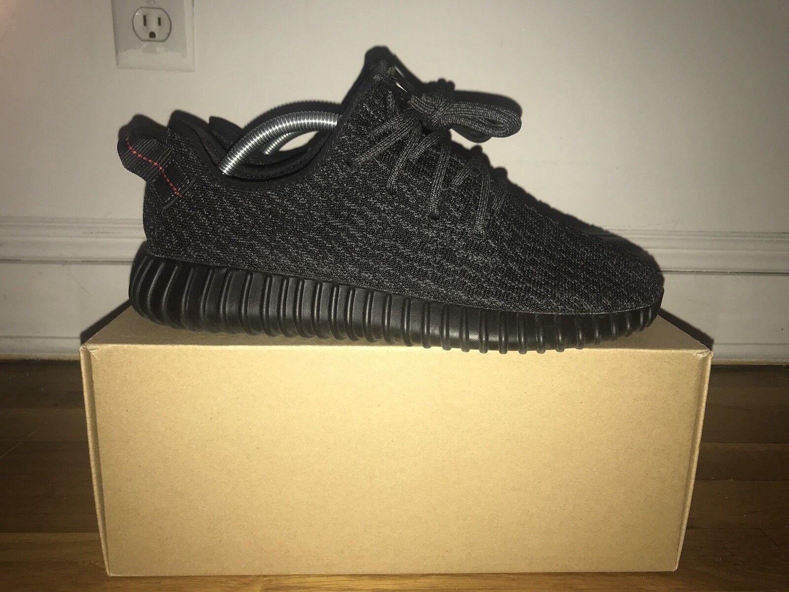 2018 Adidas Yeezy Boost 350 Pirate Black 8.5