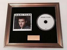 SIGNED/AUTOGRAPHED SHANE FILAN - RIGHT HERE FRAMED CD PRESENTATION.WESTLIFE