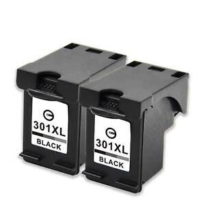 2-Cartuchos-BK-para-HP-301-XL-DeskJet-1000-1050a-2050a-2540-3050a-1010-1510-1512