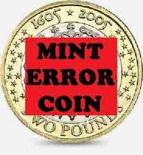 2005 £2 GUN POWDER PLOT GUY FAWKES ERROR PEMEMBER TWO POUND COIN HUNT 11/32 2 !