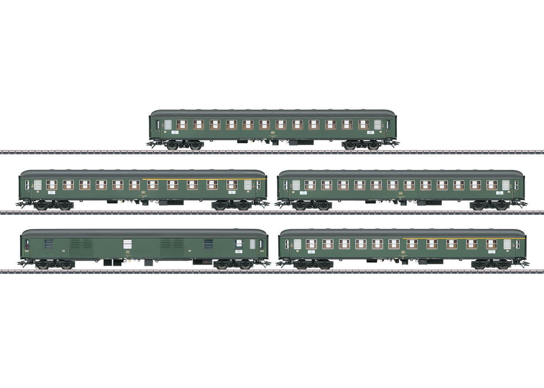 Märklin 42918 schnellzugwagen-set de la DB 5-piezas adecuado para 39188  neu en OVP