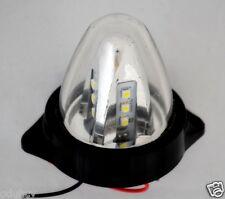 3x 12V LED bianco Luci Di Ingombro Rotante Camion Autotelai Per Rimorchi Furgone
