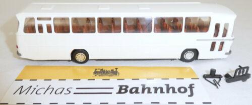 Weiß O302 13 Rüh Mercedes Bus Omnibus Reisebus Classic H0 LA4 å