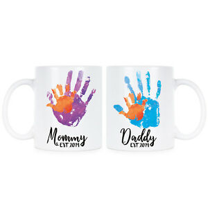 new mom dad mugs mom and dad est 2019 coffee mug set ebay