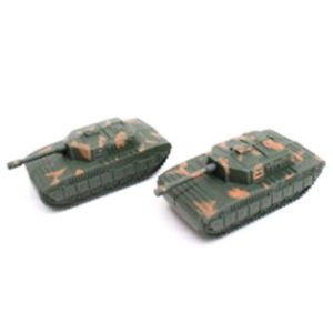 Details about 2pcs Sand Table Plastic Tiger Tanks Toy World War II Germany  Military Model F LL