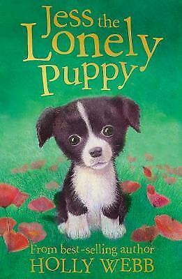 Jess the Lonely Puppy by Holly Webb, Good Used Book (Paperback) FREE & FAST Deli