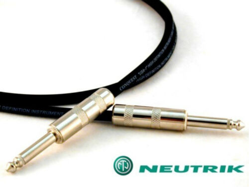 Conquest Sound HUSH 6/' INST Pro Series 6 ft Instrument Cable