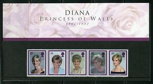 GREAT-BRITAIN-PRINCESS-DIANA-MEMORIAL-STAMPS-PRESENTATION-PACK-AS-ISSUED