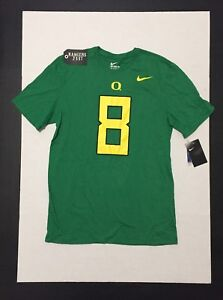 a265c49f8 Nike Oregon Ducks Marcus Mariota 8 T-Shirt Mens Size L 886699830940 ...