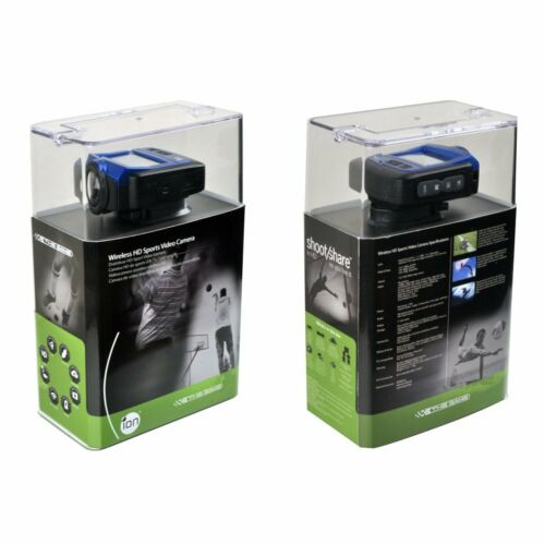 ION THE GAME WIRELESS FULL 1080P HD SPORTS ACTION VIDEO CAMERA WATERPROOF