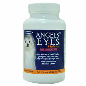 Pet-Dog-Cat-Angel-Eye-Natural-Tear-Stain-Remover-Dog-Supplement-75g-Tracking