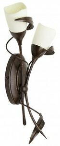 Applique-Style-Campagne-Lampe-de-corridor-Marron-31594