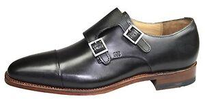 Gordon-amp-Bros-4924-Lucquin-rahmengenaehte-Schuhe-Double-Strap-Monk-black-edel