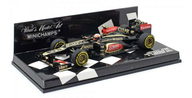 Minichamps Lotus F1 E21 2013 - Romain Grosjean 1 43 Scale