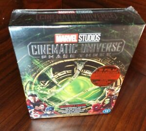 Details about Marvel Cinematic Universe Phase 3 (Blu-ray)Collector's  Edition-NEW-Free SHIPPING