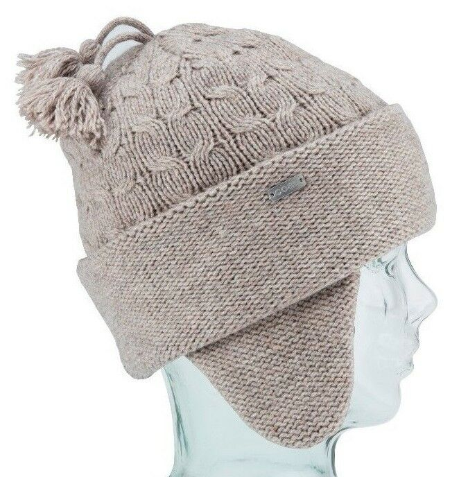 Coal Headwear THE HERITAGE Unisex Lambswool Blend Beanie Light Brown NEW