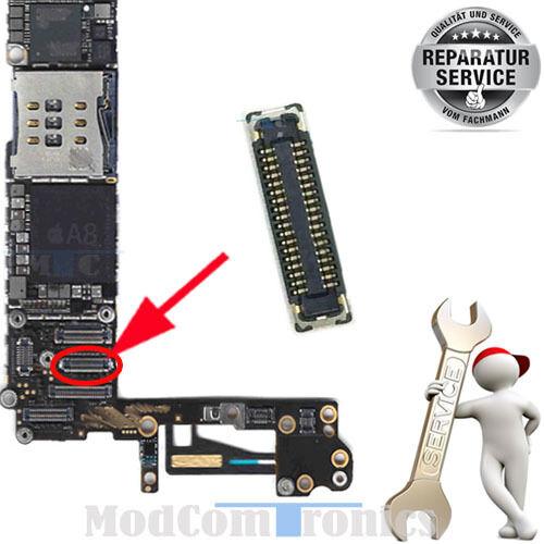 iPhone 6 Plus REPARATUR LCD Display FPC Anschluss Connector Hauptplatine NEU175