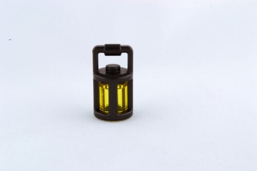 Lego Mini Figure Lantern Pearl Dark Gray Transparent Yellow Lot of 1 NEW