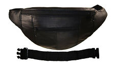 "Leather Women Fanny Pack Waist Belt Bag Travel Pouch with 18"" extension Free Bk"