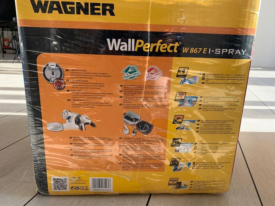 Nyt Wagner Sprøjtesystem, Wagner Wallperfect W867E