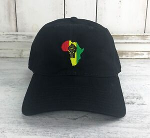 22b482545c5 Africa Logo Dad Hat Embroidered Baseball Cap HIP HOP a tribe called ...