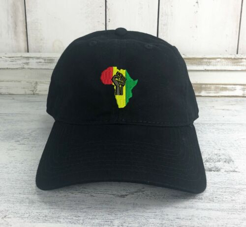 Africa Logo Dad Hat Embroidered Baseball Cap HIP HOP a tribe called quest