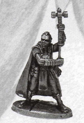 Ral Partha 03-149 Male Cleric Player Character Warrior-Priest Paladin Champion