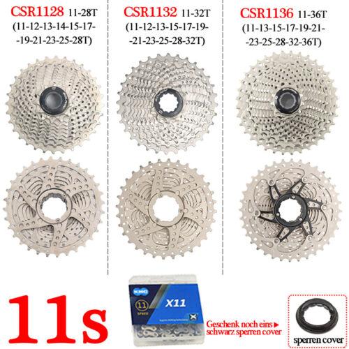 BOLANY CSR 8 9 10 11 Fach Kassette Stahl CNC Rennrad Fahrrad KMC Kette Ketten