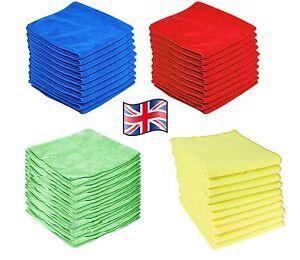 Professionnel-Large-Microfibre-Chiffons-Voiture-Nettoyage-Detailing-Soft-Duster-serviette