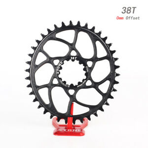 Bicycle-Oval-Chainring-0mm-Offset-for-SRAM-BB30-Crank-X9-XO-X7-32T-34T-36T-38T