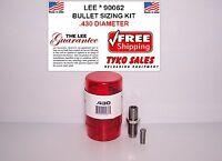 90062 Lee Bullet Sizing Die Kit .430 Diameter