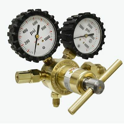 Nitrogen Regulator Delivery Pressure Gas Uniweld Tank Inlet Outlet Connection