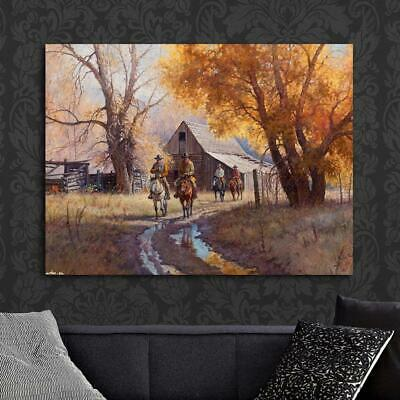 """HD Art  Canvas Print,Oil Painting The Morning of A New Day A6005,16/""""x20/"""""""