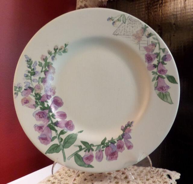 """Pattern Cape May Salad Plate Pfaltzgraff 8 1/8"""" Ironstone Stoneware Pottery"""