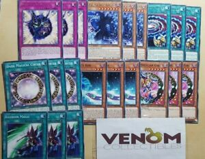 M//NM Lot YuGiOh Dark Magician Girl Deck Core LED6-1st Edition