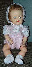 """VINTAGE Doll 1950'S MY PRECIOUS BABY Vinyl EFFANBEE Big Doll! 19"""""""