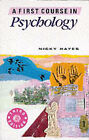 A First Course in Psychology by Nicky Hayes (Paperback, 1993)