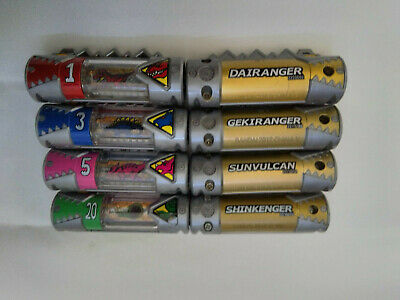 POWER RANGERS Dino Charge Zyudenchi Kyoryuger Lot of 8 Energems from Japan #4