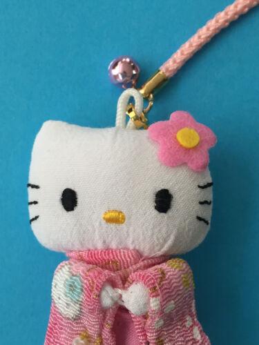 Hello Kitty Cute Key Chain Strap Kimono Pink Kawaii Accessory from Kyoto