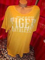 Victorias Secret Mizzou Tigers T-shirt Boyfriend Fit Medium