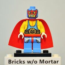 New Genuine LEGO Super Wrestler Minifig with Cape Series 1 8683