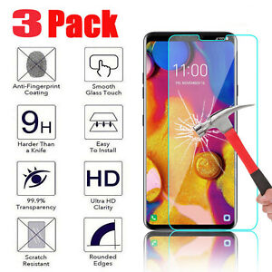 For-LG-V40-ThinQ-Real-Premium-Tempered-Glass-Screen-Protector-HD-Protective-Film
